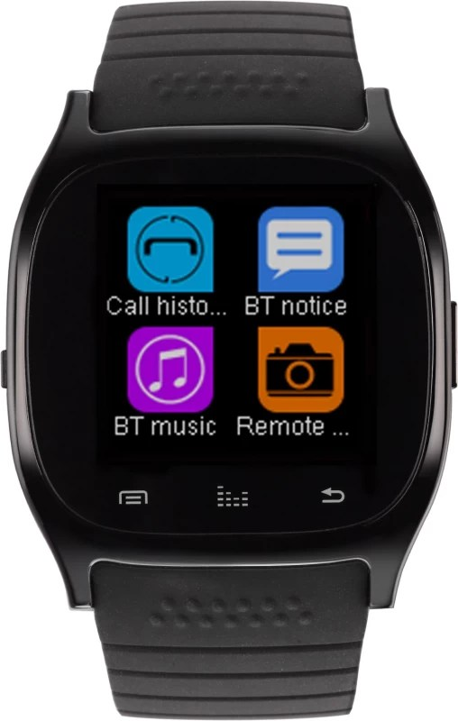 Metronaut MTS003 Smartwatch with Pedometer, Bluetooth Support and Remote Camera(Black)