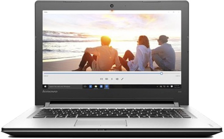 Lenovo IDEAPAD 300 Core i5 6th Gen - (4 GB/1 TB HDD/DOS) 80Q700UVIH Notebook(15.6 inch, SIlver)