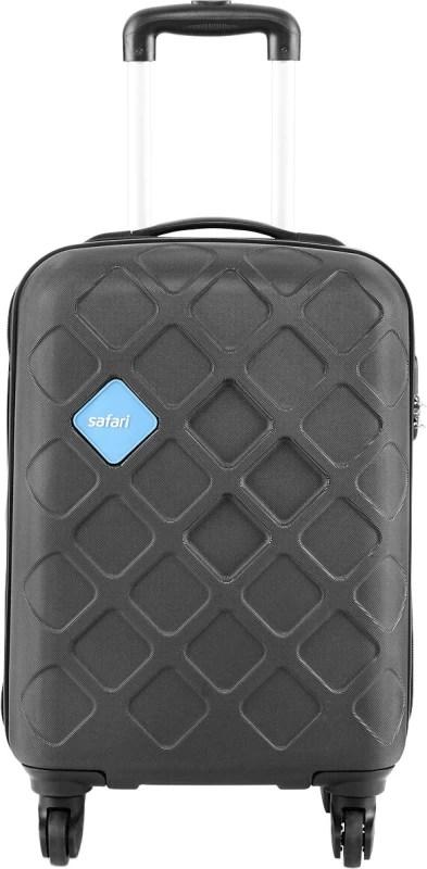 Safari Mosaic Cabin Luggage - 22 inch(Black)