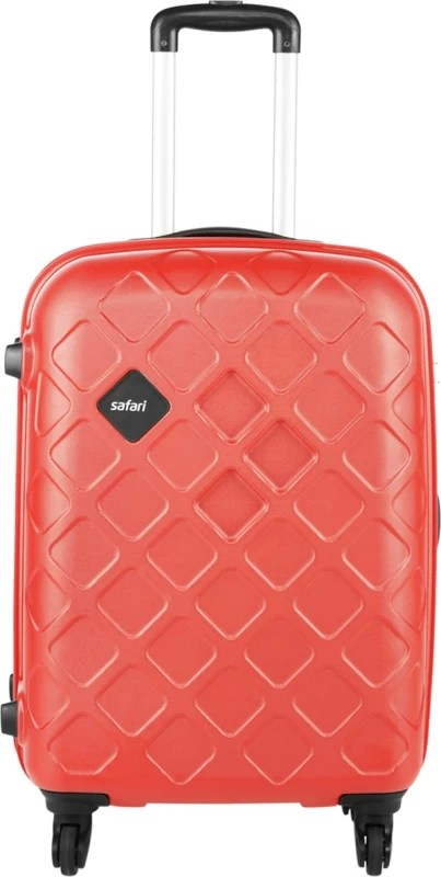 Safari Mosaic Check-in Luggage - 26 inch(Red)