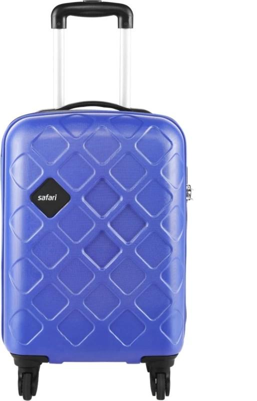 Safari Mosaic Cabin Luggage - 22 inch(Blue)