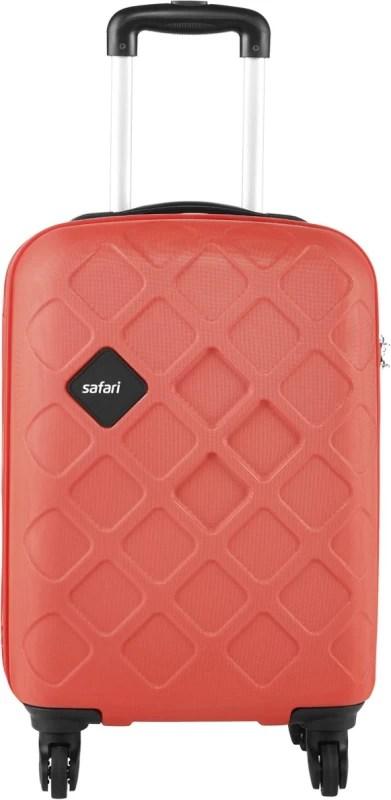 Safari Mosaic Cabin Luggage - 22 inch(Red)