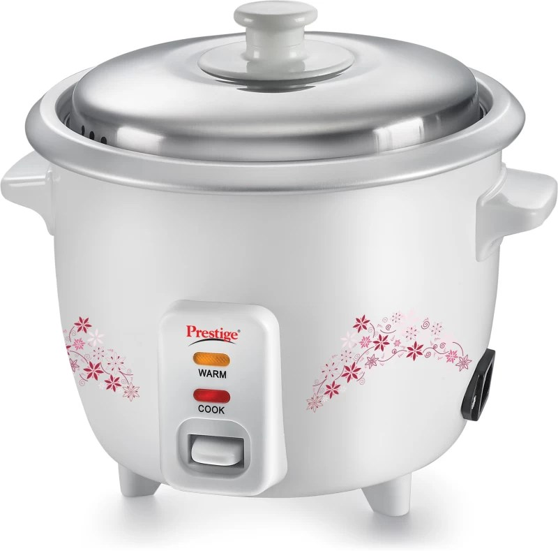 Prestige Delight PRWO - 1.0 Electric Rice Cooker(1 L, White)