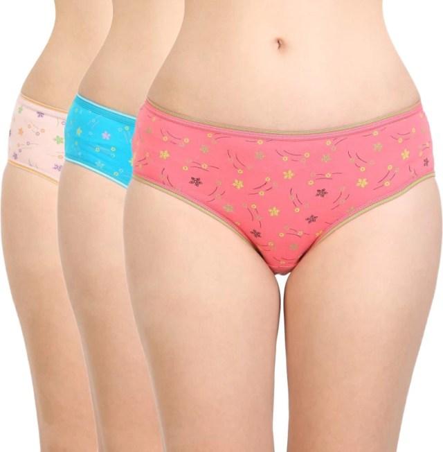 BodyCare Women Hipster Multicolor Panty