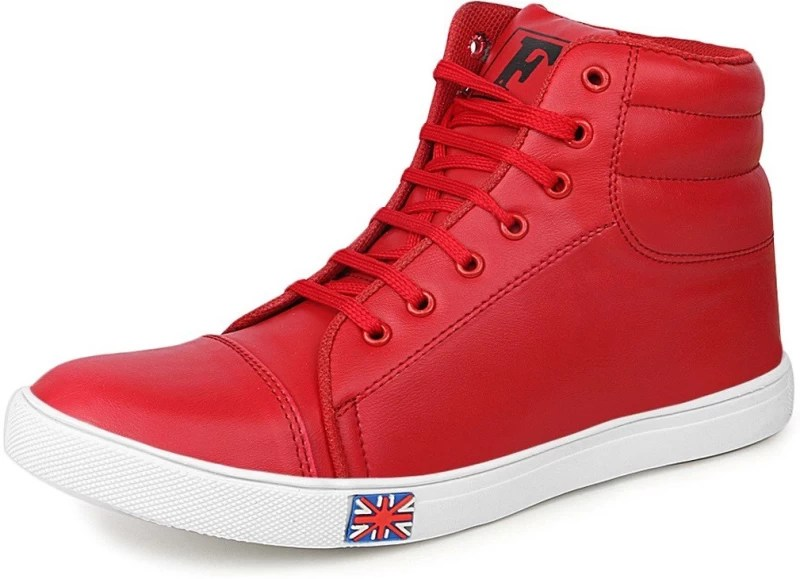 U2 Sneakers Men's Red Casual Shoes Sneakers For Men(Red)