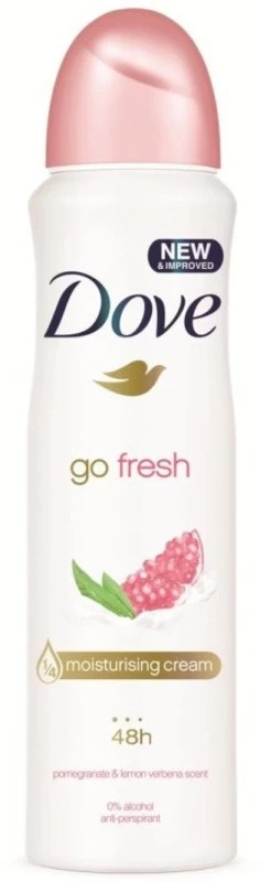 Dove Go Fresh 48h Pomegranate & Lemon Vebena Scent Deodorant Deodorant Spray - For Women(250 ml)