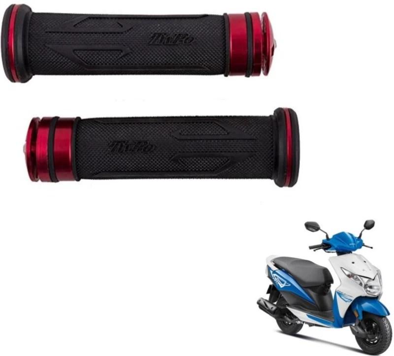 Mockhe MoxiDiamond-61 Bike Handle Grip For Honda Deo(Pack of 2)