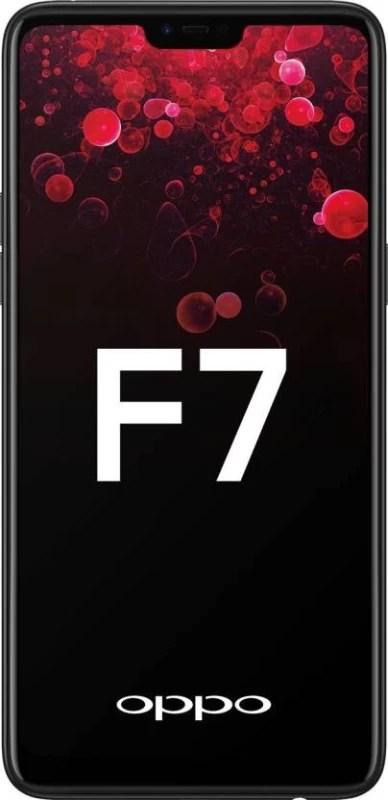 OPPO F7 (Black, 64 GB)(4 GB RAM)