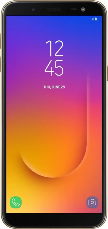 Samsung Galaxy J6 (Gold, 64 GB)(4 GB RAM)
