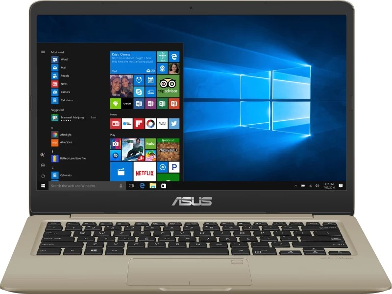 Asus VivoBook S14 Core i3 8th Gen - (8 GB/1 TB HDD/256 GB SSD/Windows 10 Home) S410UA-EB796T Thin and Light Laptop(14 inch, Gold, 1.3 kg)