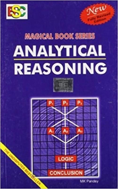 Analytical Reasoning Paperback By MK Pandey(Paperback, MK PANDEY)