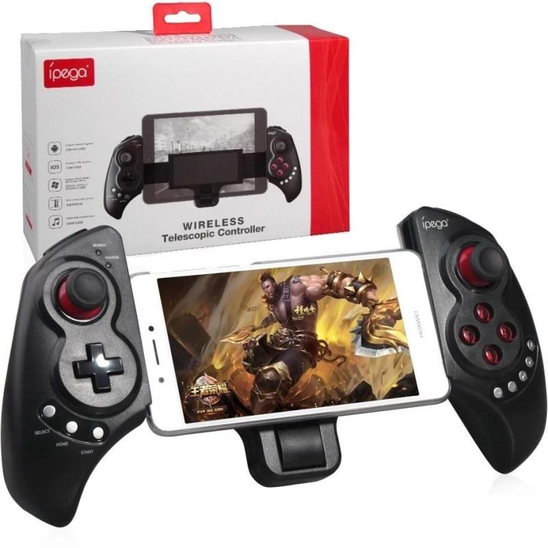 ipega PG-9032 : Newest V4.0 Wireless Bluetooth Telescopic Gamepad Controller Joystick(Black, For PC)
