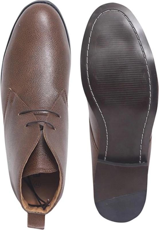 Elitous Chukka Boots For Men Boots For Men(Brown)