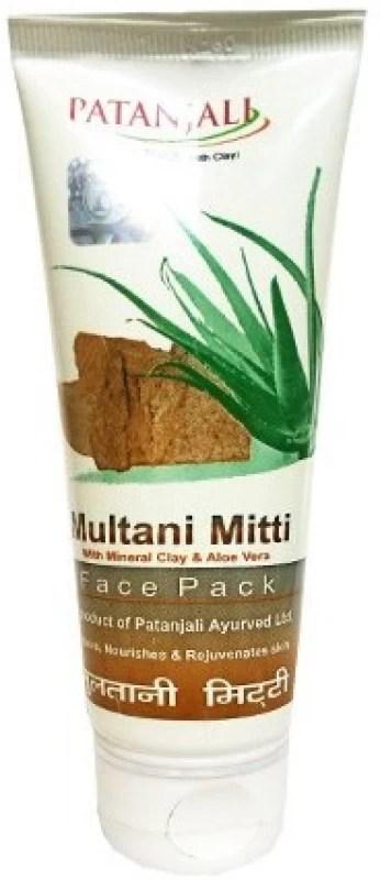 Patanjali Aloe Vera Multani Mitti 60g Face Pack(60.0 g)