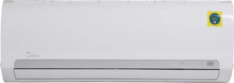 Midea 1.0 Ton 3 Star Split AC - White(12K 3 STAR SANTIS PRO CLS R32(MF001)/FIXED SPEED R32 ODU(MF001), Copper Condenser)