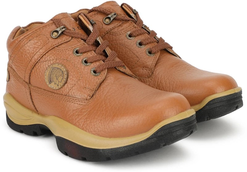 Red Chief Boots For Men(Tan)