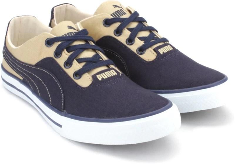 peacoat pale khaki 36069801 puma 5 original imaeh292jzcw6sug - Puma Nestor Plus DP Closed Shoes(Khaki, Navy)