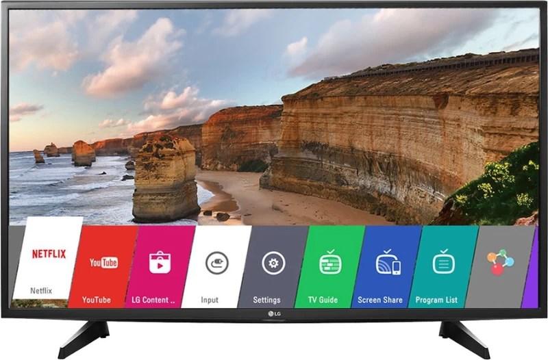 LG 108cm (43 inch) Full HD LED Smart TV(43LH576T)