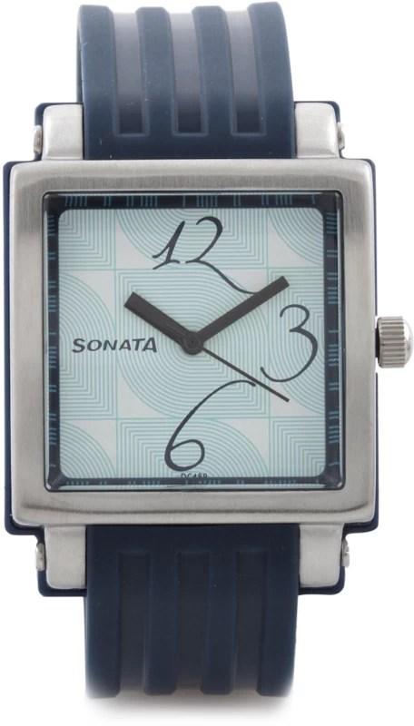 Sonata NH8990PP02CJ Fashion Fibre Watch - For Women