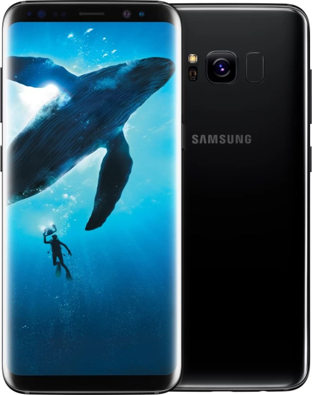 SAMSUNG Galaxy S8 Plus (Midnight Black, 64 GB) (4 GB RAM)