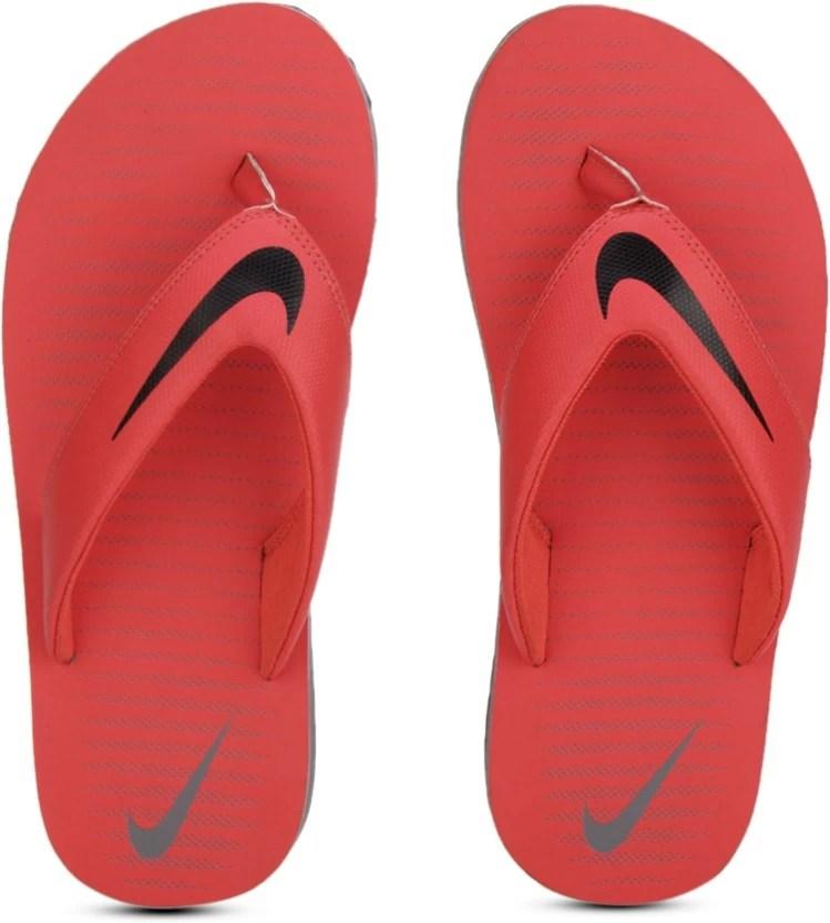 Nike CHROMA THONG 5 Flip Flops - Buy MAX ORANGE/BLACK-COOL ...