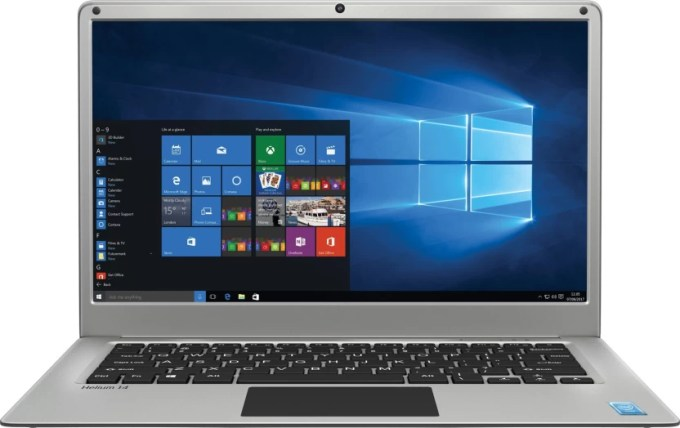 Lava Helium 14 Atom Quad Core - (2 GB/32 GB EMMC Storage/Windows 10 Home) C141 Thin and Light Laptop (14.1 inch, SIlver, 1.45 kg)