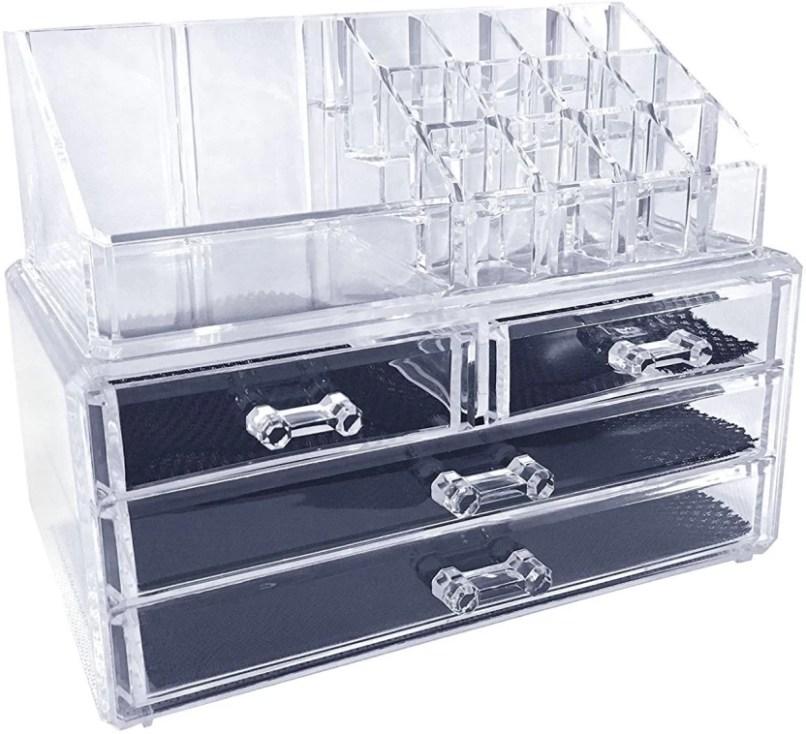 11258d5255 Avmart Cosmetic Organizer Makeup Storage Box Lipstick Holder Stand