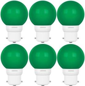 Luminous 0.5 W Round B22 D LED Bulb