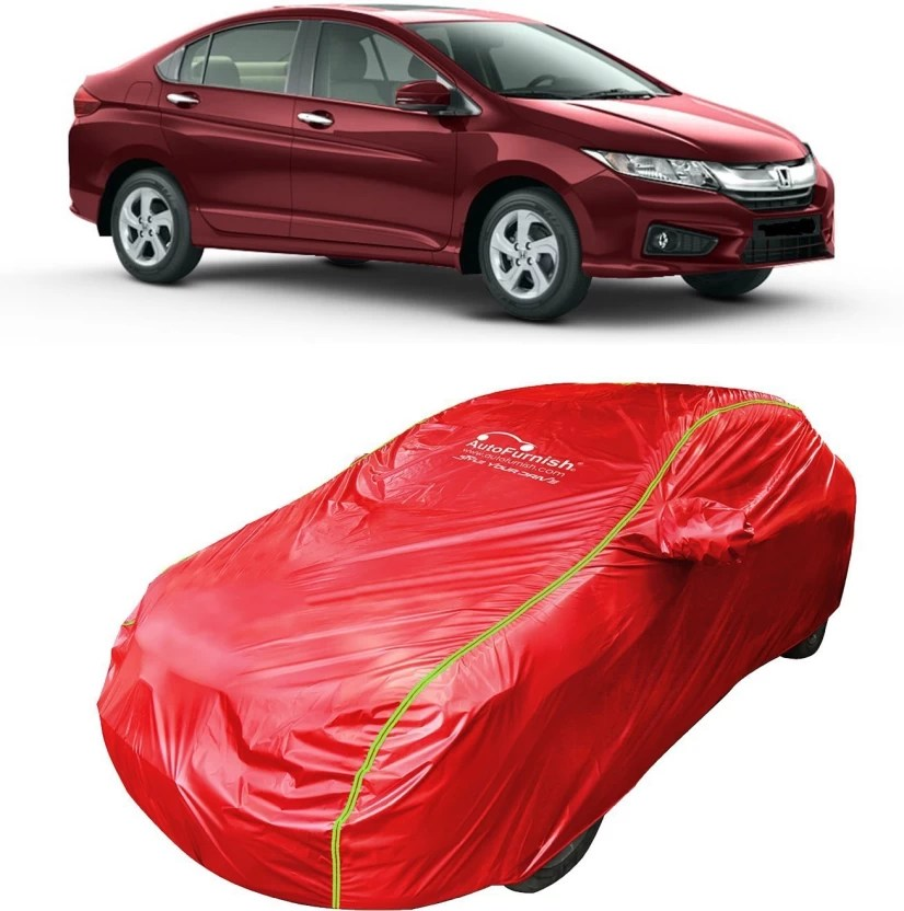 Autofurnish Car Cover For Honda City Zx With Mirror Pockets