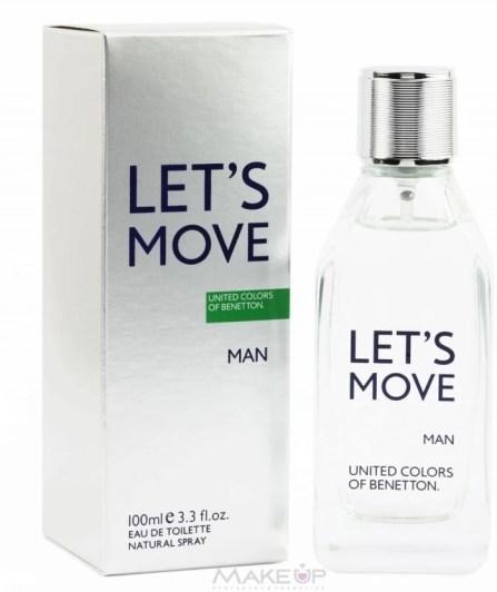 Benetton Let's Move EDT - 100 ml  (For Men)