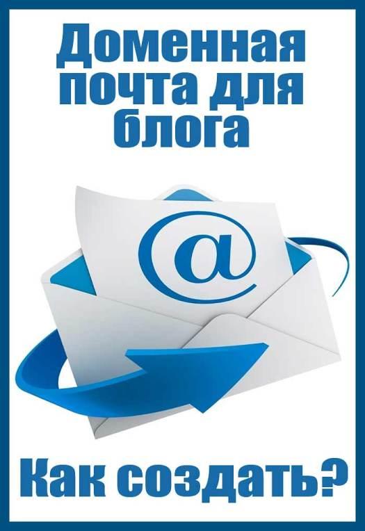 Доменная почта для блога