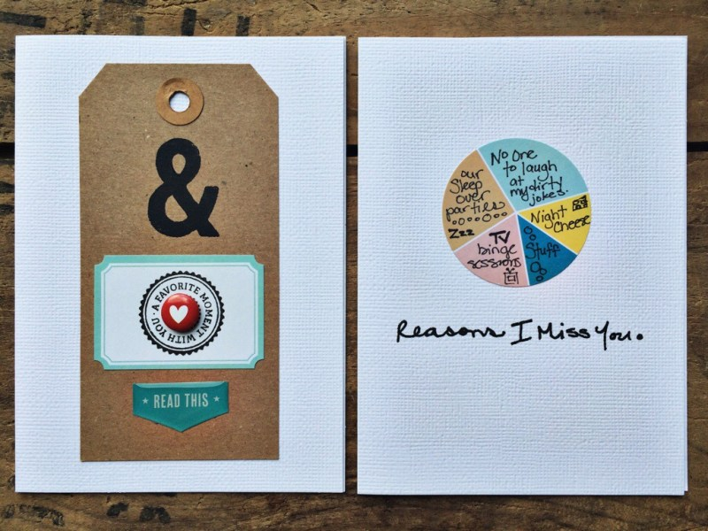 rukristin: feminist scrapbooker crafting with a kit