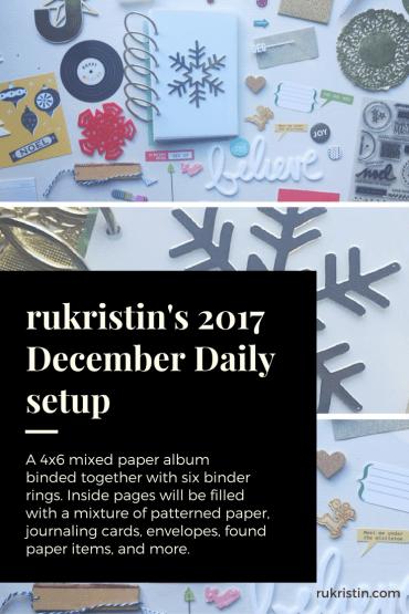 December Daily rukristin 2017