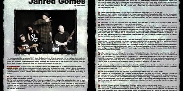 Jahred Gomes, Artist Interview