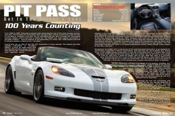 2013 Corvette, 60th Anniversary Edition