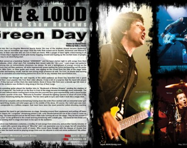 Green Day, Concert Review
