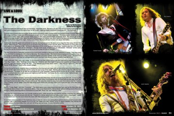 The Darkness, Concert Review