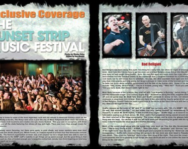 The Sunset Strip Music Festival 2012, Concert Review