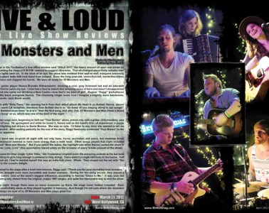 Of Monsters and Men, Concert Review
