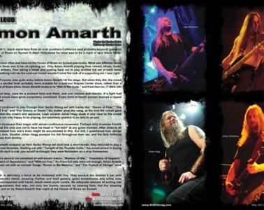 Amon Amarth, Concert Review