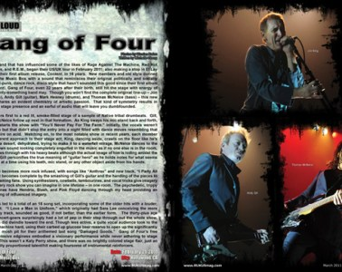 Gang of Four, Concert Review