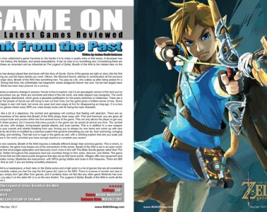 The Legend of Zelda: Breath of the Wild, Game Review