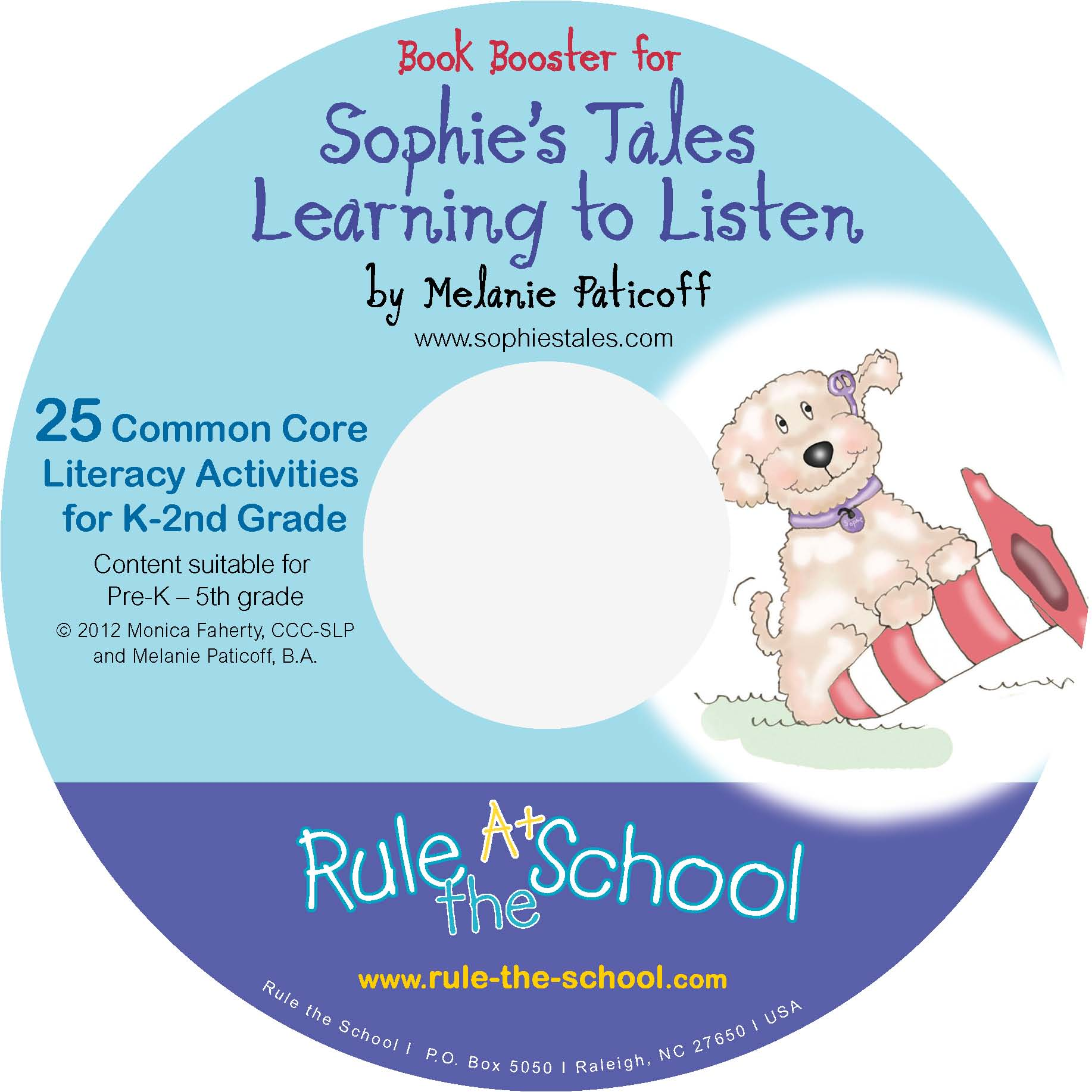 Book Booster for Sophie's Tales - Language and literacy integrated with self-advocacy