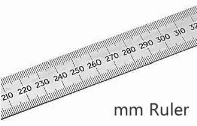 Real Scale Ruler Cablo Commongroundsapex Co