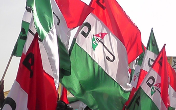Two chairmen emerge as PDP factions in Oyo hold parallel congresses, PDP announces names of contenders, PDP begins sale of nomination forms ahead of National Convention, PDP NEC approves zoning of national chairman to North, PDP zones chairmanship to North, Aggrieved Oyo PDP members mobilise against Makinde ahead of congress, inaugurate National Convention Committee, flags off membership E-registration exercise, PDP