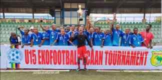 Team Ikorodu Wins Eko Football FCAAN U15 Tournament