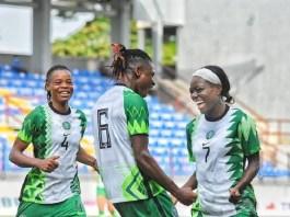 Nigeria 2-0 victory over Ghana