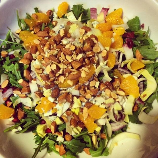 Arugula and Endive Salad with Citrus