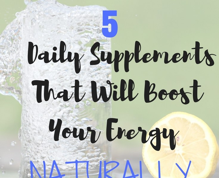 boost energy naturally supplements