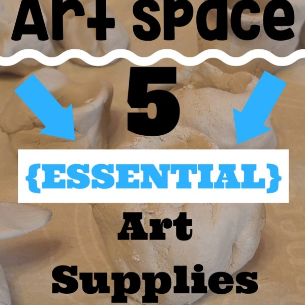 art materials kid space